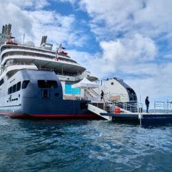 A cruise with Le Dumont d'Urville (Ponant)